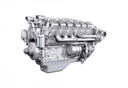 Танковый двигатель заменить на БелАЗовский