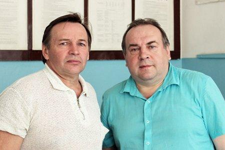 Николай Нестеров и Александр Огнетов.