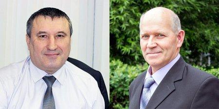 Почетные высокогорцы Сергей Жбанов и Александр Задыхин