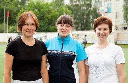 Римма Соловьева, Анна Семенова и Светлана Галкина.