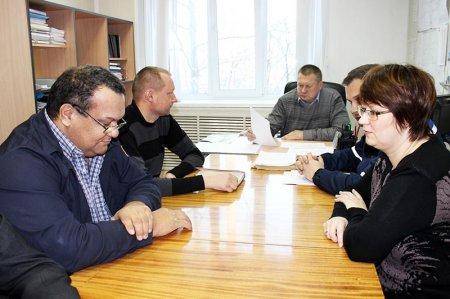 Оперативное совещание в ОГМ.