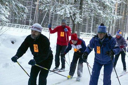 Мороз не помешал лыжным гонкам
