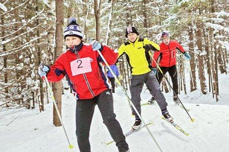 Открыли лыжный сезон