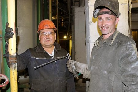 Михаил Таипов и Александр Кузнецов.
