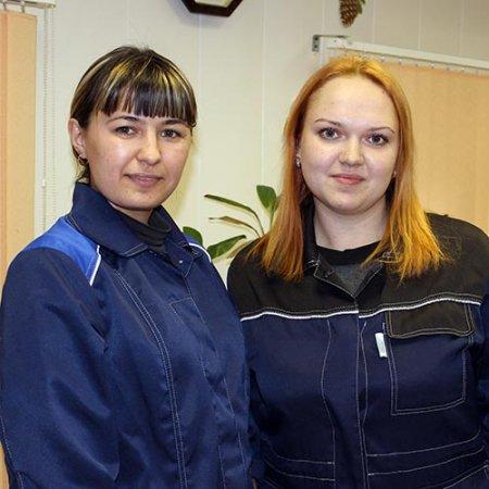 Резеда Ганиева и Злата Кузьмина.