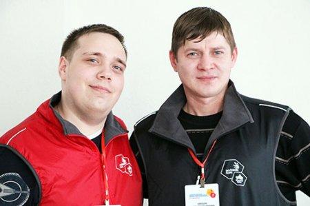 Никита Якунин и Дмитрий Никошин.