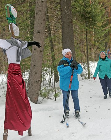 Высокогорцы проводили зиму