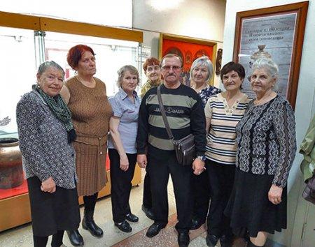 Группа ветеранов ВГОКа.