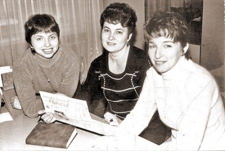 Елена Воронова, Галина Соколова, Анжела Григорьева, 1999 год.