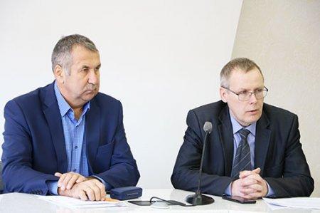 Николай Рябов и Андрей Меньшенин.
