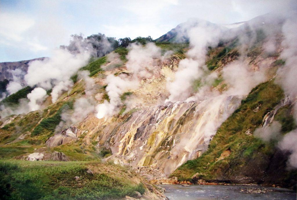 Долина гейзеров. Камчатка.