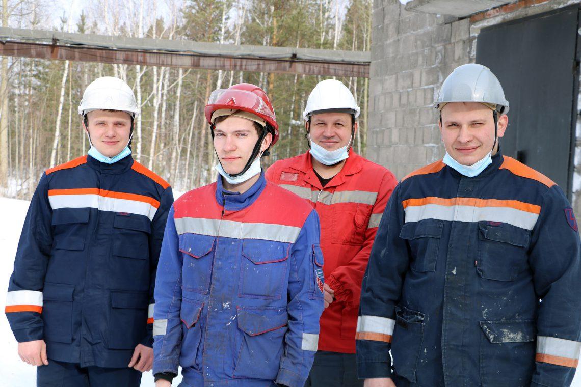 Павел Сидорович, Сергей Озеровский, Виталий Ручкин, Дмитрий Орехов.