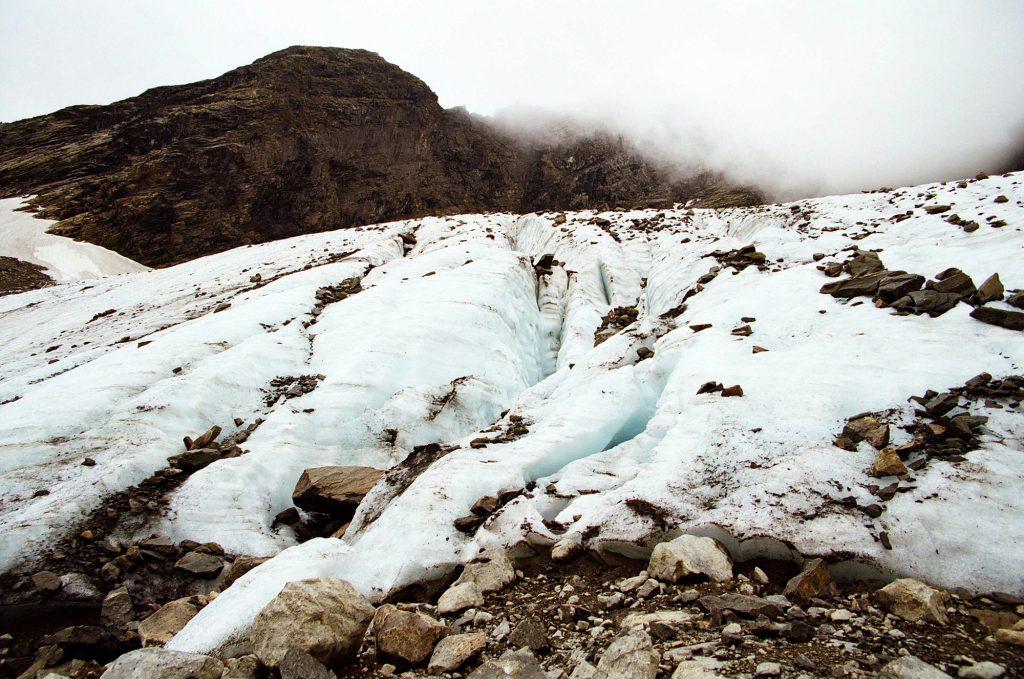 Ледник Черского. Байкал.