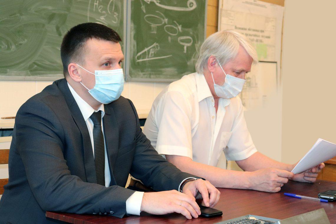Дмитрий Рыбакин и Сергей Тюленев.