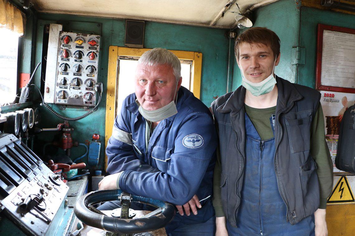 Андрей Пузырев и Виктор Сосновских.