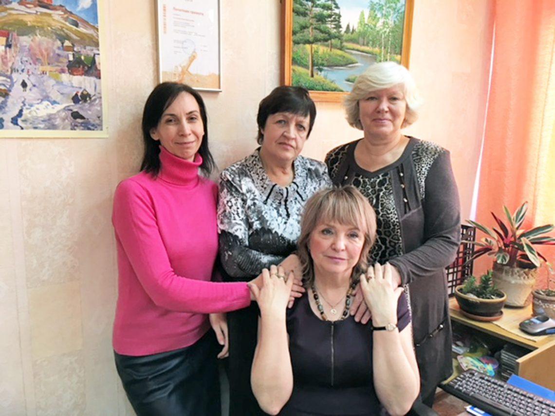 Анна Бернгардт, Валентина Назаренко, Татьяна Толстогузова, Елена Сотникова.